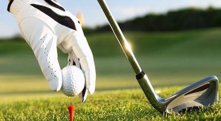 bucks group playing golf