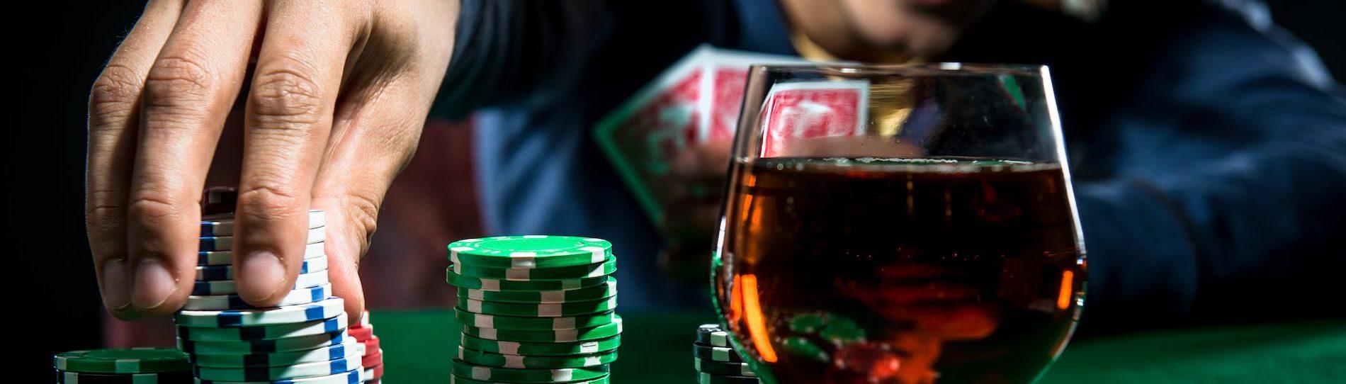 buck playing poker