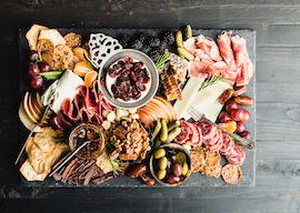 bucks food platter