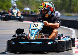 buck racing go-kart