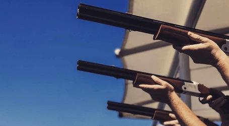 group go bucks shooting clay gun