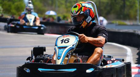 bucks group racing go karts
