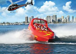 gold coast jet boat and helicopter