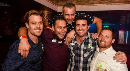gold coast bucks pub crawl