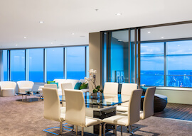 gold coast sub penthouse views of ocean