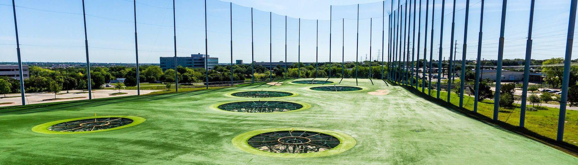 top golf range and goals