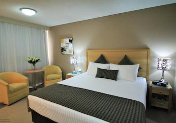 gold coast double bed bucks accommodation hobart