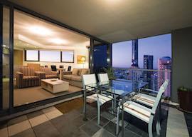 melbourne two bedroom balcony apartment