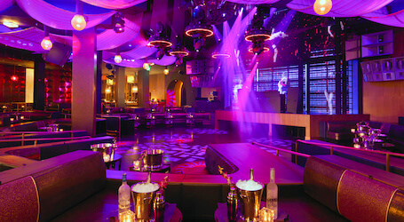 melbourne nightclub interior and private booth