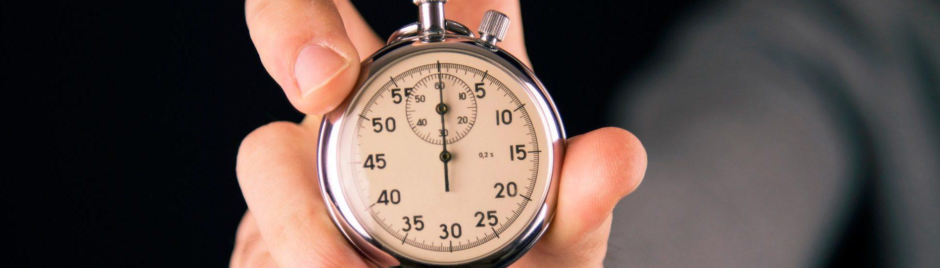 buck holding timer