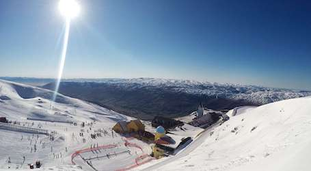 queenstown ski slopes