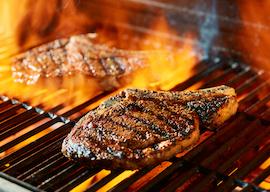 bucks steak dinner
