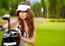 beautiful waitresses at bucks golf