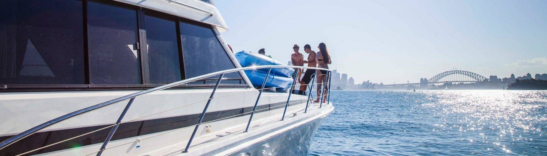 sydney party cruise package header