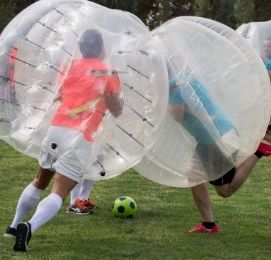 wicked bucks wellington bubble soccer package