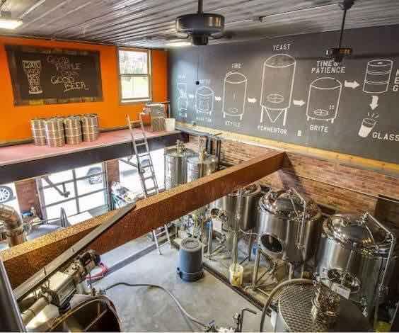darwin brewery tour