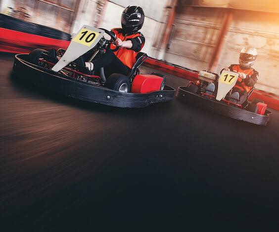 bucks racing go karts