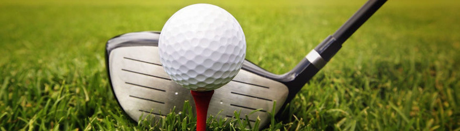 buck playing golf