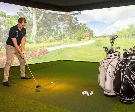 melbourne golf simulator