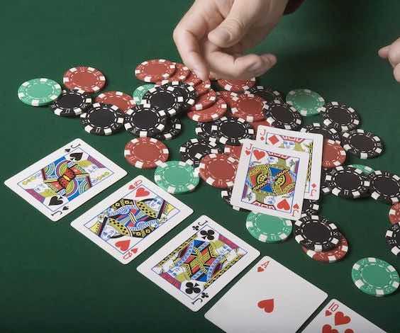 bucks playing poker
