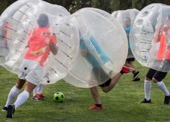 wicked bucks bubble soccer hobart