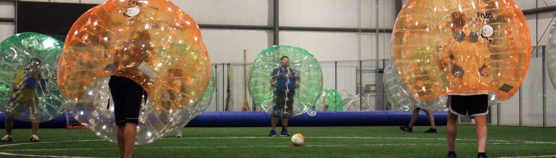 sydney bubble soccer indoor or outdoor
