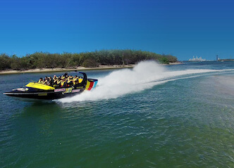 buck jet boat ride gold coast