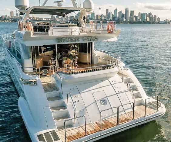 bucks luxury boat cruise sydney
