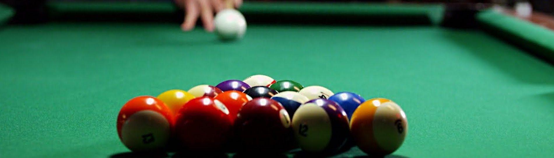 buck playing pool