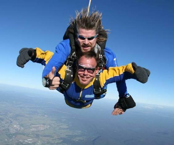 buck skydiving