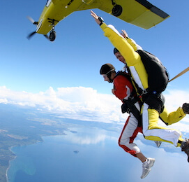 buck skydiving in taupo