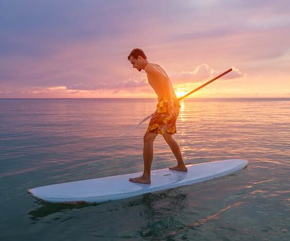 buck stand up paddle boarding