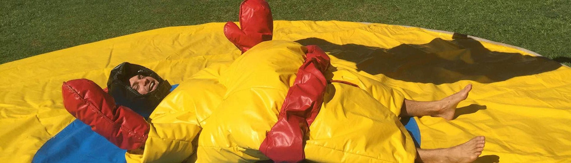 bucks sumo suit activity