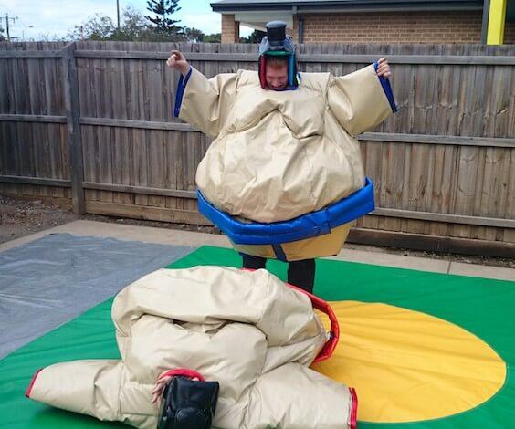 buck sumo wrestling