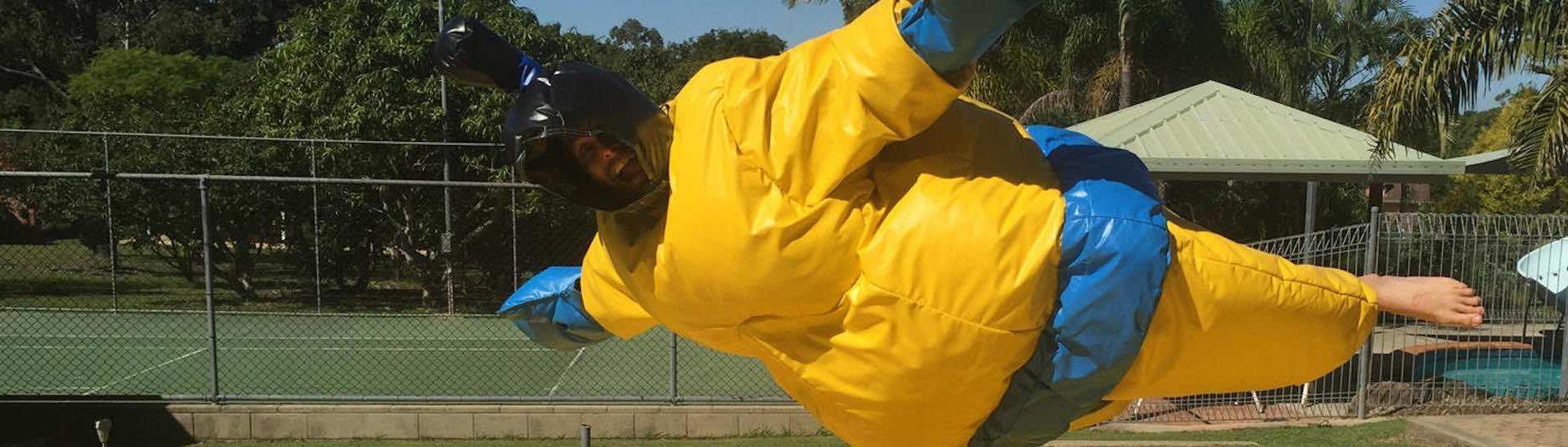 sumo suit hire sydney