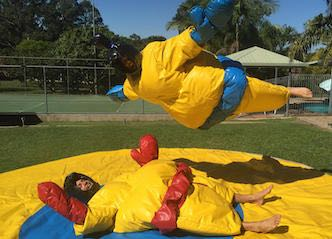 bucks sumo suits sydney bucks party ideas