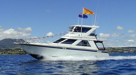 bucks taupo boat cruise
