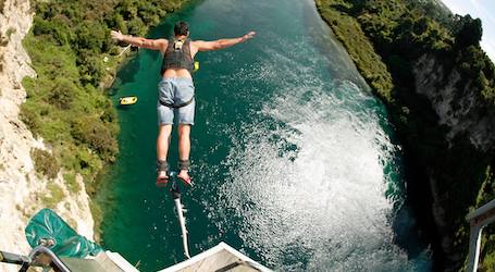 buck bungy jumping