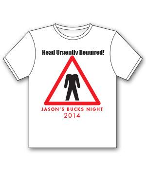 bucks t-shirt jason's bucks night