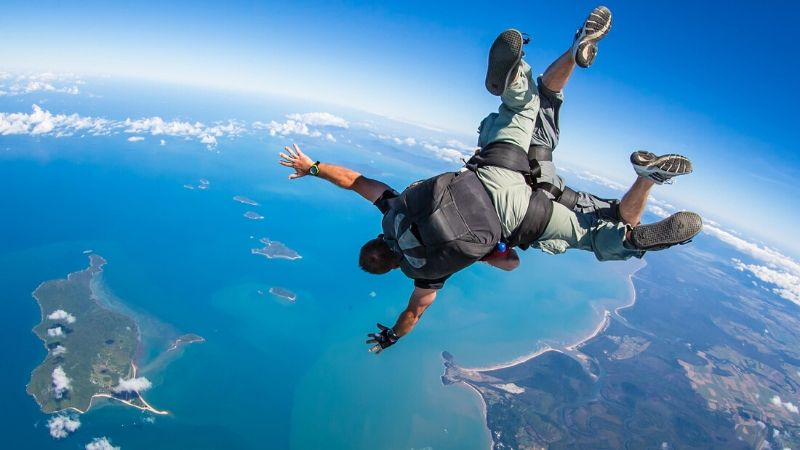 wicked bucks party challenges skydiving