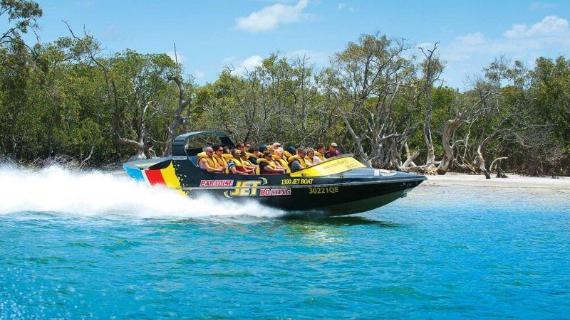 gold coast jet boating wicked bucks