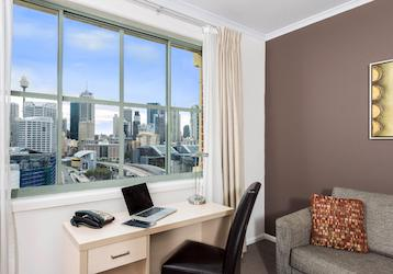 2 bedroom city skyline executive apartment
