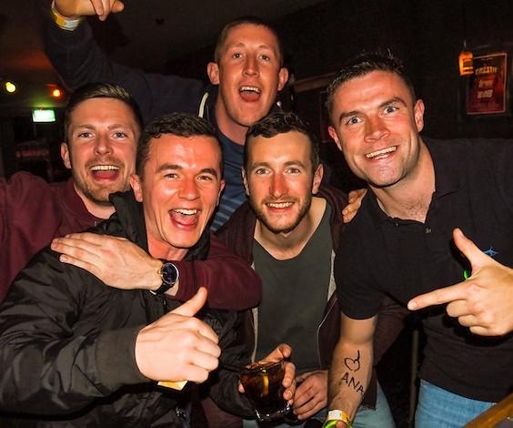 bucks group on big night out pub-crawl