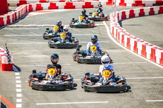 bucks group go-karting