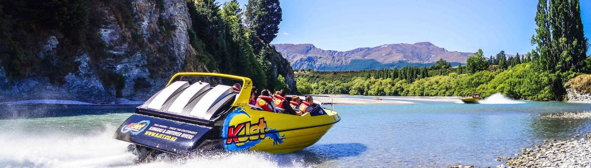 stag party jet boating in queenstown
