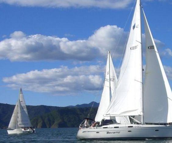 bucks group on sailing charter