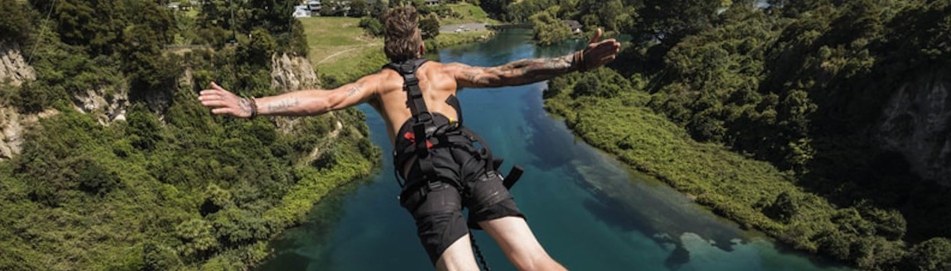 bungy jumping taupo