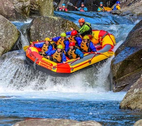 white water rafting taupo