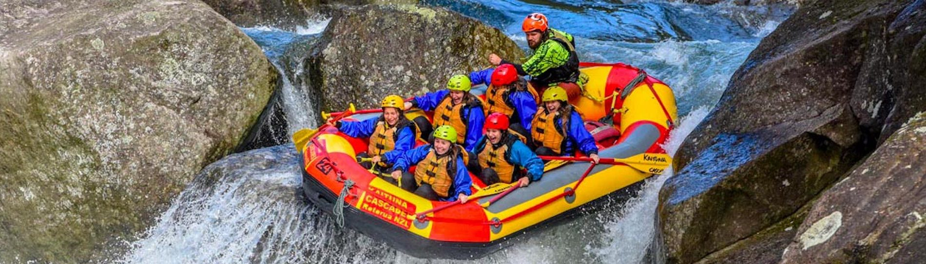 taupo white water rafting