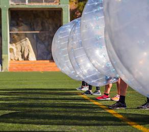 auckland bubble soccer